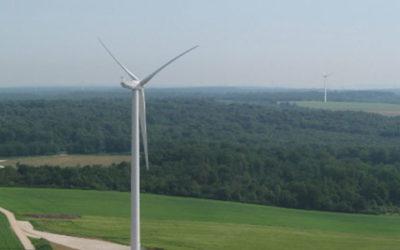 Mise en service du parc éolien français de Chermisey – le 03.06.2013 Inauguration en fin d'été