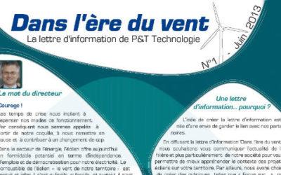 Lettre d'information n° 1 – Juin 2013