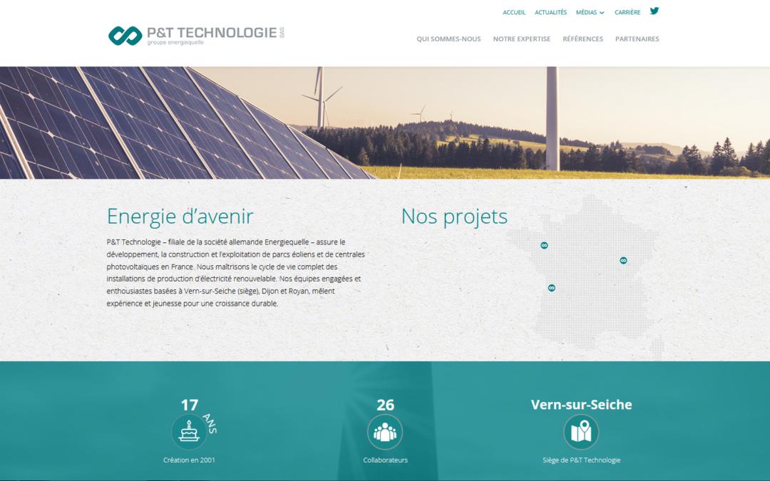 Lancement du nouveau site web
