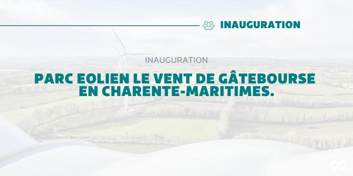 Inauguration du Parc Eolien de Saint-Mandé