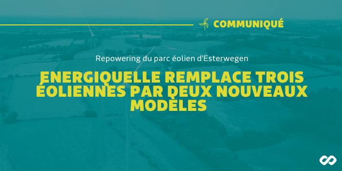 Repowering – Energiequelle remplace les éoliennes et augmente la puissance du parc