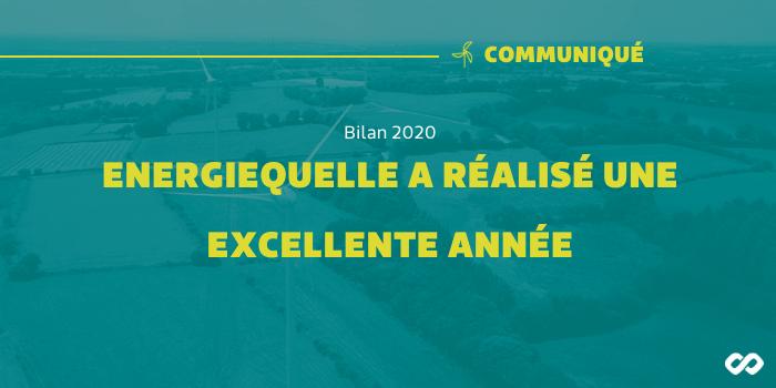 Bilan 2020 – Energiequelle a réalisé une très bonne année